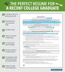 cover letter college grad resume template college grad resume cover letter excellent resume for recent grad business insider bi graphics goodresumecollege grad resume template extra