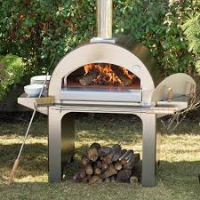 ideas pizza ovens alfa forno  wood burning pizza oven on cart
