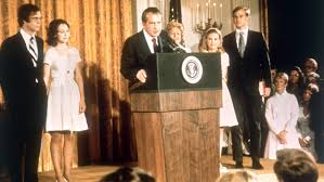 「On this day in 1974, the House Judiciary Committee recommends that America's 37th president, Richard M. Nixon, be impeached and removed from office」の画像検索結果