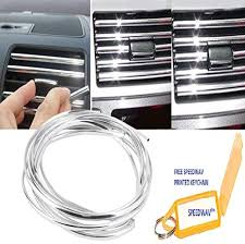Speedwav 3 Meters <b>U Shape</b> DIY <b>Car</b>-Styling Interior <b>Air Vent</b> Grille ...