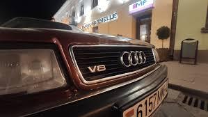 <b>Шильдики V8 на</b> решетку — Audi V8, 4.2 л., 1992 года на DRIVE2