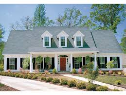 Colonial Plantation Southern House Plan   Colonial  House    Colonial Plantation Southern House Plan   Colonial  House plans and Car Garage