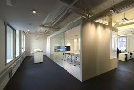 wonderful office interior designs blue office room design