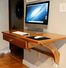 modern furniture large size amazing wooden wall mounted computer desks with drawer for imac gorgeous coolest amazing furniture modern beige wooden office