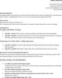 free resume sample college student academic for doc   pdfresume sample college student academic
