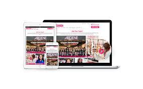 employer branding agency the foundry ardene responsive design career site including photoshoot and videoshoot prtfolio piece
