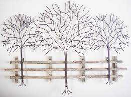 tree scene metal wall art: metal wall art trees metal wall art winter tree scene