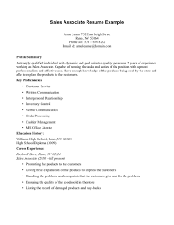 resume responsibilities for s associate duties of s associate retail associates job description cover brefash middot sample resume
