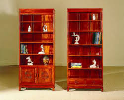 rosewood bookcases asian office furniture