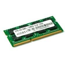 <b>4GB DDR3 1333 MHz</b> (PC3-10600) CL9 SODIMM - <b>Notebook</b>   Dell ...