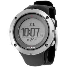 Suunto Ambit3 Peak Grey Dial Silicone Strap Unisex <b>Watch</b> ...