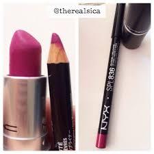 Nyx Lip Pencil - Bloom = <b>Mac Flat Out</b> Fabulous! Dupe! | Lipstick ...