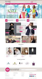 your fashion store opencart responsive template home