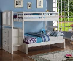 image of white bunk beds twin over twin design amazing twin bunk bed