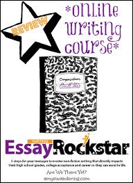 hands off for mom homeschool writing curriculum   amys wandering essay rock star online writing course