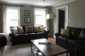 ideas to decorate a living room with black sofa home decor black leather living room