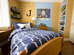 bedroom ideas small rooms style home: personal touches original child style  teen boys room angled bed sxjpgrendhgtvcom