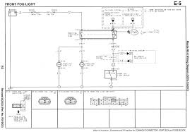 rewiring the rx fog lights this drawing from the 2004 rx 8 wiring diagram book shows the wiring for the fog light relay switch and lamps the power to actually drive the fog lights