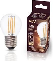 <b>Лампа</b> светодиодная <b>REV Deco Premium</b> Filament G45, холодный ...