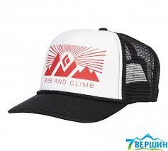 <b>Кепка Black Diamond Flat</b> Bill Trucker Hat White/Fire Red, One Size ...