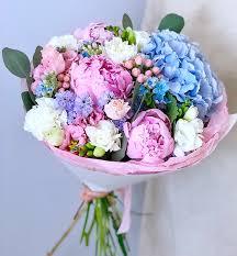 Голубые цветы купить в СПБ   Красивые цветы голубого цвета с ...