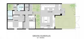 Modern home floor plan   Interior Design Ideas Modern home floor plan