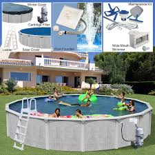 pools chemicals century pools majestic above ground resin pool packages
