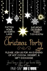christmas party invitation party like a cherry