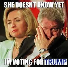 Image result for trump clinton memes