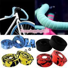 <b>2PCS</b> Road <b>Bike Handlebar Tapes Cycling</b> Handle Wraps <b>Bicycle</b> ...