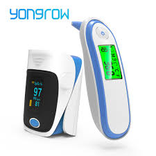 Yongrow <b>2PCS Digital</b> Infrared Thermometer & OLED <b>Fingertip</b> ...