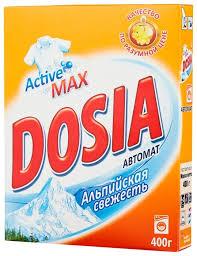 <b>Стиральный порошок Dosia</b> Альпийская свежесть (<b>автомат</b> ...
