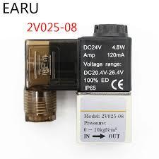 1Pc 3V1 06 2 Position 3 Way <b>Pneumatic Solenoid Valve</b> Port 1/8 ...