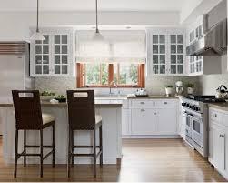 white kitchen cabinets wood