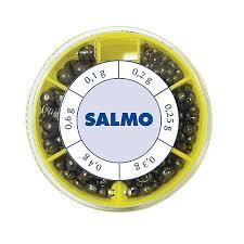 <b>Грузила Salmo ДРОБИНКА PL</b> 6 секций стандартные 070г набор