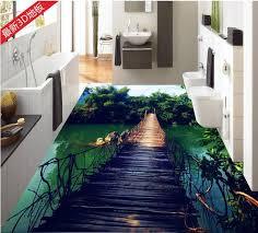 <b>Custom 3d</b> Stereoscopic Living <b>Room Wallpaper 3d</b> Floor Tiles ...