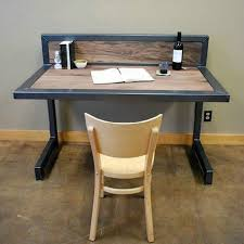 excellent natural home of american retro wood to do the old wrought iron desk creative consumer besi office computer desk