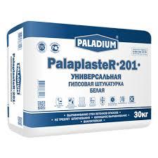 Купить <b>Штукатурка гипсовая Paladium</b> Palaplaster 201 <b>белая</b> 30 кг ...