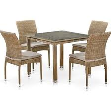 <b>Комплект мебели Afina garden</b> T257B/Y380B-W65 light brown ...