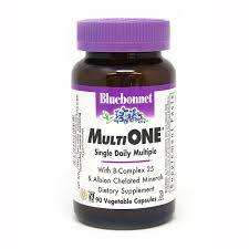 <b>MULTI ONE</b>® (With Iron) 90 VEGETABLE CAPSULES - Bluebonnet ...