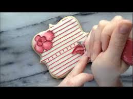 Brush <b>Embroidery</b> and <b>Lace</b> Using Royal Icing on a <b>Sugar</b> Cookie ...