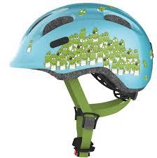 Велосипедный <b>шлем Abus SMILEY</b> 2.0 blue croco Голубой ...