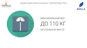 <b>Матрас Miella Twisted</b> Maxi Eco - YouTube