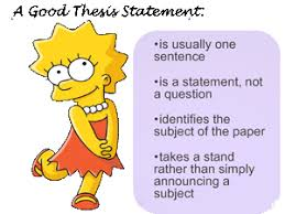 Writing a thesis statement help