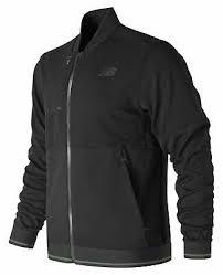 New Balance Men's <b>Restore Bomber Jacket</b> Black   eBay