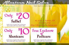 allentown nail salon manicure pedicure waxing foot massage allentown nail salon coupon 2014 manicure10 pedicure20 eyebrow