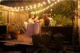 outdoor garden party lighting ideas backyard party lighting