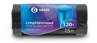 <b>Мешки для мусора GRASS</b> 120л PP-0024: купить за 160 руб ...