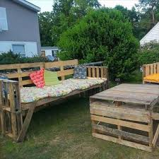 pallet outdoor furniture beautiful wood pallet outdoor furniture