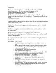 food inc extra credit essay   food inc  extra credit assignment     pages food inc notes